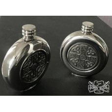 SUPERNATURAL   -   BOBBY'S PAIR OF ROUND FLASKS  -  SPECIAL ORDER