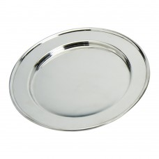 Plain Pewter Plate