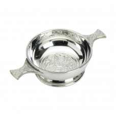 CELTIC CROSS QUAICH BOWL