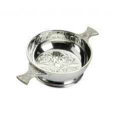 CELTIC DESIGN QUAICH BOWL