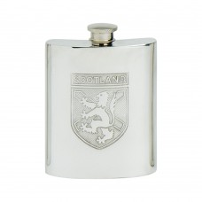 SCOTLAND SHIELD KIDNEY FLASK