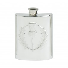 CLASSIC THISTLE HIP FLASK