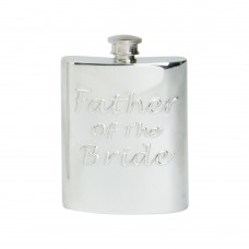 6OZ FATHER OF THE BRIDE HIP FLASK