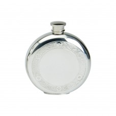 6OZ ROUND FLASK CELTIC WIRE FLASK
