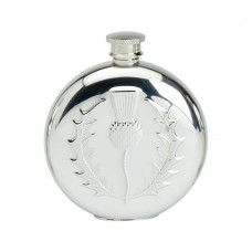 6OZ ROUND FLASK THISTLE