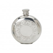 6OZ ROUND FLASK CELTIC THISTLE