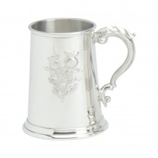 Tankard Stamped Thistle Scene