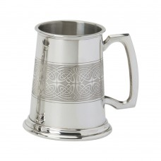Celtic Panel Tankard
