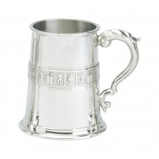 1PT PEWTER TANKARD GOLF WIRE