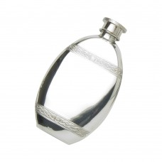 Oval Flask Celtic Wire