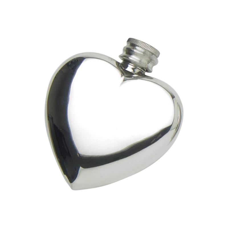 3oz Heart Shape Flask