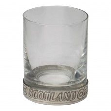 WEE DRAM PEWTER RIM SHOT GLASS
