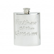6OZ FATHER OF THE GROOM HIP FLASK