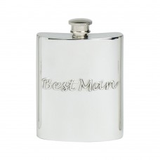 6OZ BEST MAN HIP FLASK