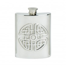 6OZ CELTIC KNOT HIP FLASK