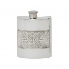 6OZ CELTIC PANEL HIP FLASK