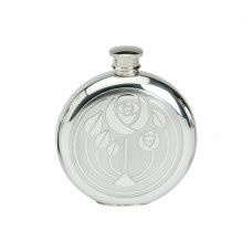 6OZ ROUND FLASK GLASGOW BOUQUET