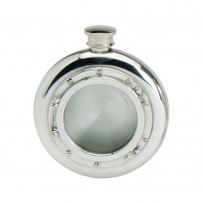 60Z ROUND PORT HOLE FLASK