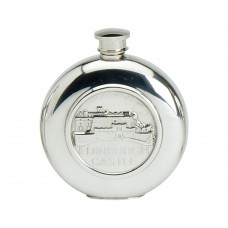 6OZ ROUND FLASK EDINBURGH CASTLE