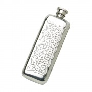 3OZ BOOT FLASK CELTIC ROPE