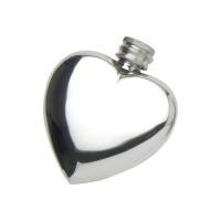 3oz Heart Flask V