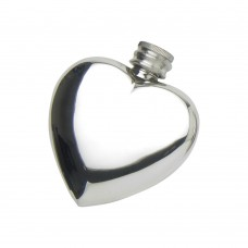 3oz Heart Flask V