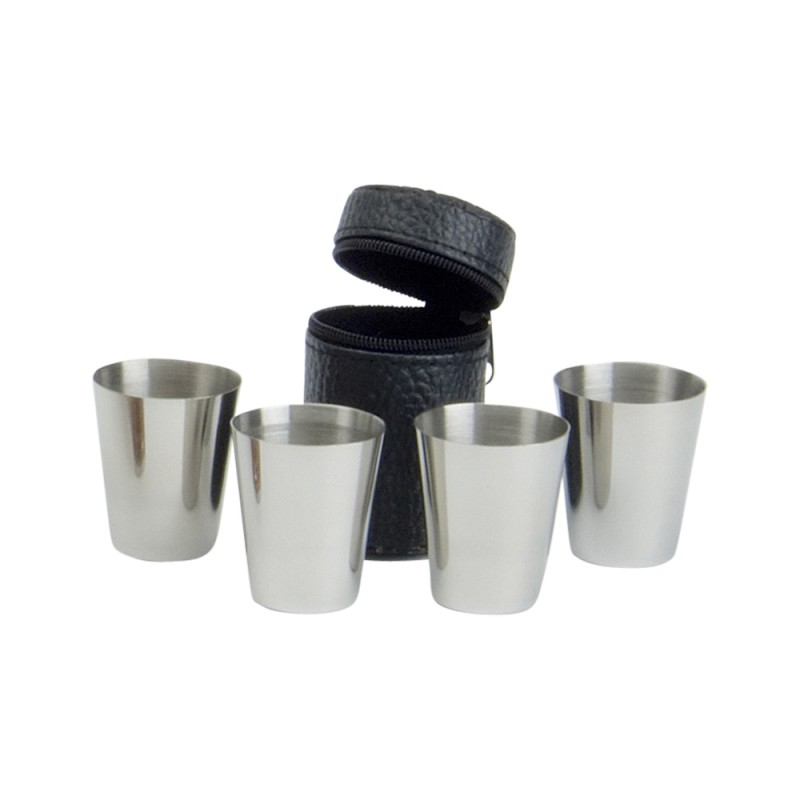 SET OF 4 DRINKING CUPS