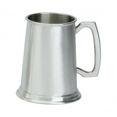 1PT PEWTER TANKARD SATIN FINISH