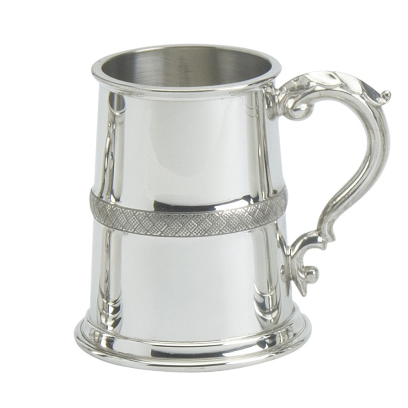 PEWTER TANKARD CHESTER