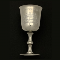 Merry Christmas Goblet