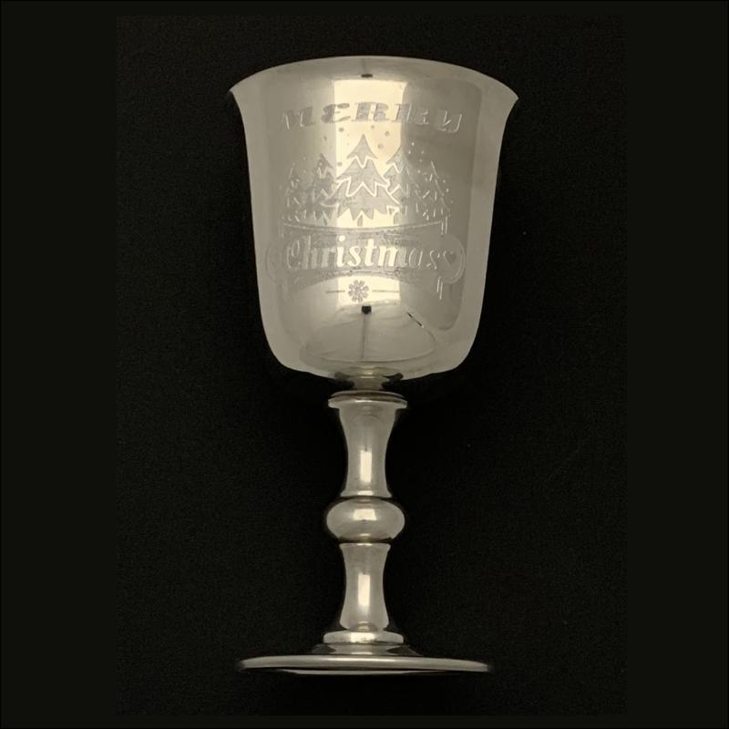 Merry Christmas Goblet