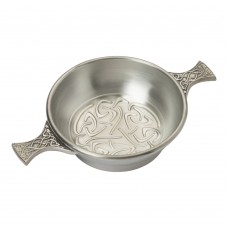 CELTIC SCROLL QUAICH BOWL