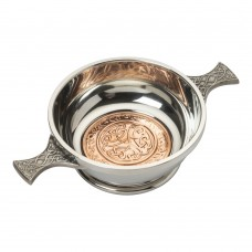 COPPER CELTIC QUAICH BOWL