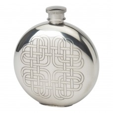 6OZ ROUND FLASK CELTIC HEART