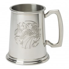 1 PT PEWTER TANKARD KELLS DRAGON