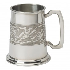1 PT TANKARD SERPENT BAND