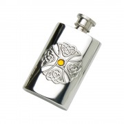 2OZ PEWTER HIP FLASK CELTIC